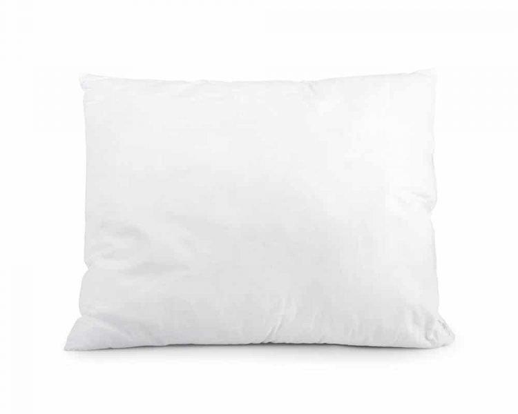 Kussen Sleeptime Regular Elisabeth,De vulling is van holle vezels en een tijk van 100% plukkatoen, voelt zacht en luchtig, goedkoop, snelle levering, maat 60 x 70 cm