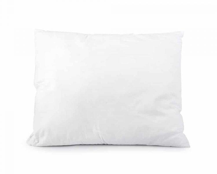 Kussen Sleeptime Premium Elisabeth, kleur wit, maat 60 x 70 cm, vocht regulerend, voelt zacht aan, soepel, vacuum verpakt, 100% plukkatoen, goedkoop, snelle levering