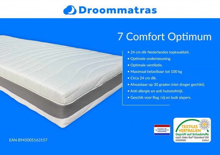 Matras-pocketvering-7-Comfort-Optimum-6
